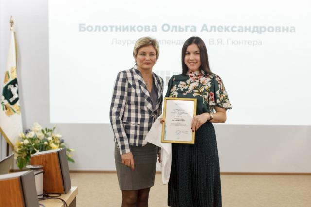 Студентка-энергетик Томского политеха получила именную стипендию от компании «Микран»
