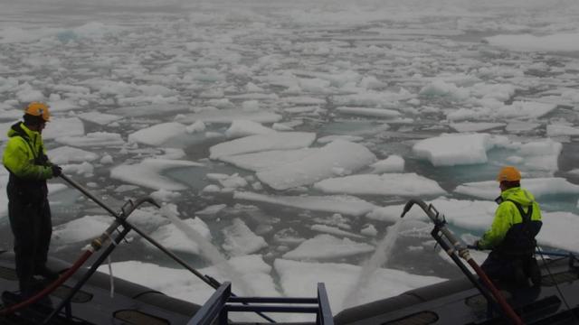 Исследовательский центр мирового уровня создан в Арктике на борту  флагмана российского научного флота «Академик М. Келдыш»