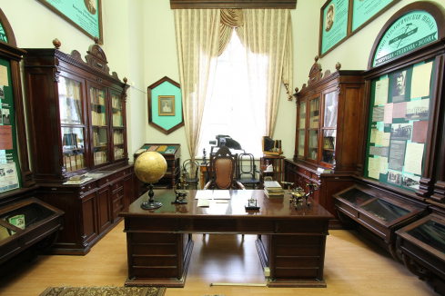 Memorial Room of Academicians-Geologists V. Obruchev, M. Usov