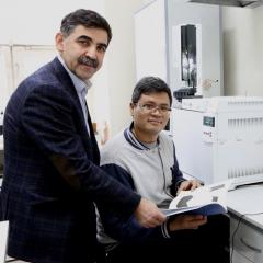 Постдок из Китая приехал в ТПУ исследовать нанокаркасы для зеленой химии