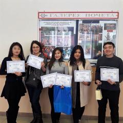 Студентка ТПУ из Монголии заняла второе место на всероссийской олимпиаде для иностранных студентов