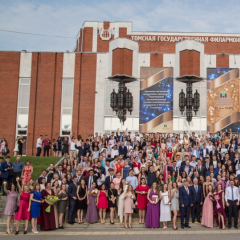 Более 600 краснодипломников ТПУ получили медали на торжественном ректорском приеме