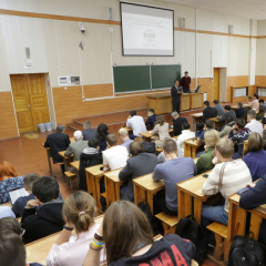 Ядерное нераспространение, инновационные материалы и пучково-плазменные технологии обсуждают в ТПУ студенты и молодые ученые