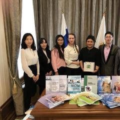Томские политехники передали учебники в дар гражданам Монголии