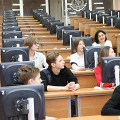 Школьники Томска и Астаны научились добывать медь с помощью виртуального геологического полигона ТПУ