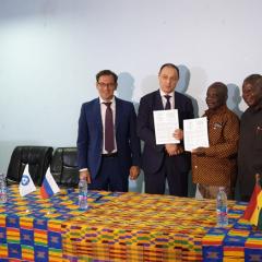 Томский политех стал первым российским вузом, подписавшим меморандум с Ганой об образовательном сотрудничестве в атомной отрасли