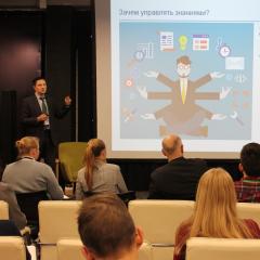 ТПУ и «Газпром нефть» научат представителей академической среды Томска эффективно управлять знаниями на форуме U-NOVUS
