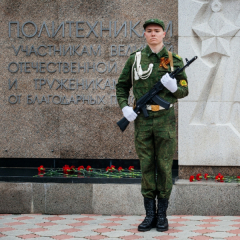 Память героев Великой Отечественной войны почтили политехники