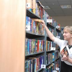 1500  читательских билетов, 2400 посещений и 6000 выданных книг: итоги первой учебной недели в библиотеке ТПУ