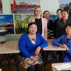 Преподаватели ТПУ впервые провели выездные занятия по русскому языку для жителей и учителей Монголии