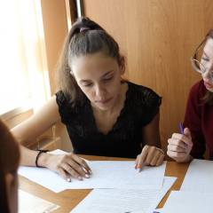 Школьники Томска сразились в «химических боях» в ТПУ