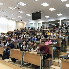 Порядка 130 студентов-иностранцев впервые написали в Томском политехе облегченную версию Тотального диктанта