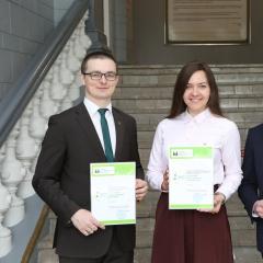 Политехники получили стипендии имени Почетных профессоров вуза Накорякова и Глухих