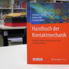 Справочник политехников по механике вышел в издательстве «Springer»