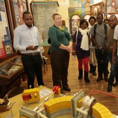 Африканские студенты и журналисты знакомятся с ядерным образованием в Томске