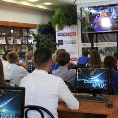 Участники конкурса «Орбита молодежи», который проходит в ТПУ в Дни Роскосмоса, побывают на томском «Космическом уроке»