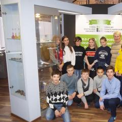 Школьники знакомятся с историей ТПУ в рамках совместной программы вуза и администрации Томска