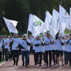 Вместе с «ЮДИ» на празднике первокурсника станцевали более 3,5 тысячи студентов