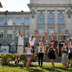 Первокурсники ТПУ познакомятся с вузом и достопримечательностями Томска во время фотокросса