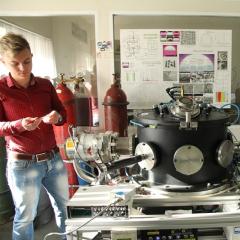 В Томском политехе проходит испытания алмаз для детектора Большого адронного коллайдера