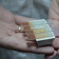 Полые «шарики» магнетита, синтезируемого в ТПУ, лучше сохраняют «невидимые» свойства при повышенных температурах