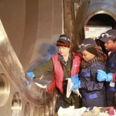 Иностранные студенты ТПУ впервые прошли практику на нескольких действующих предприятиях Росатома